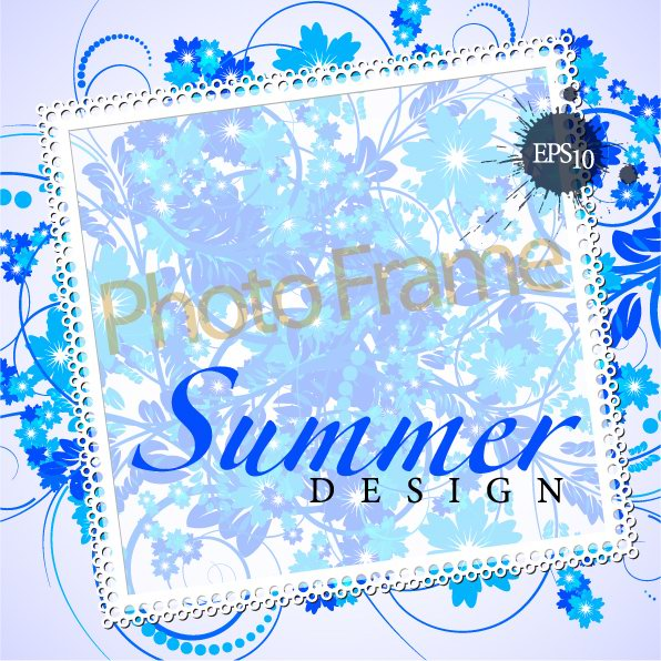 Elegant design of the text box decorative shading pattern ...
