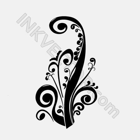 free vector Elegant floral vector 131652