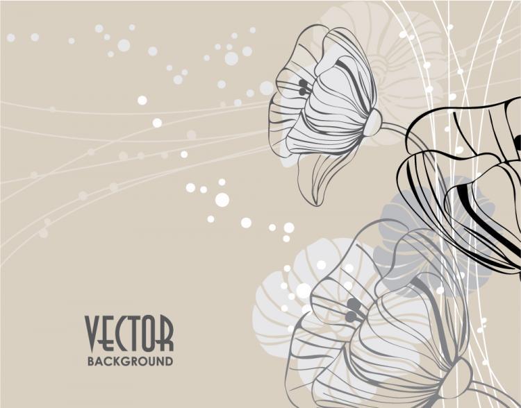 free vector Elegant pattern background 02 vector