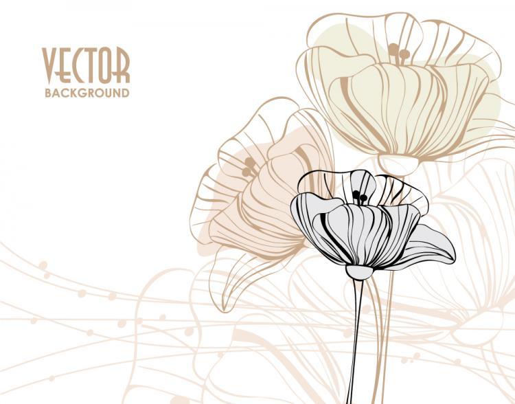 free vector Elegant pattern background 04 vector