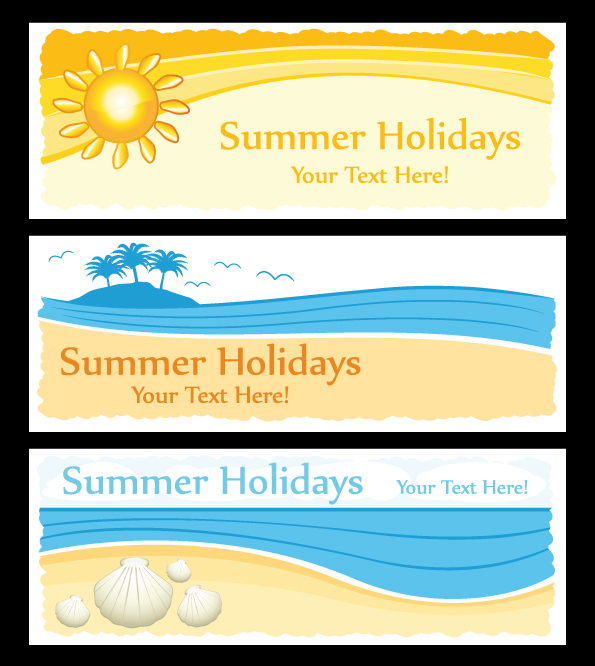 free vector Elements of vector cute summer