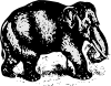 free vector Elephant clip art 118837