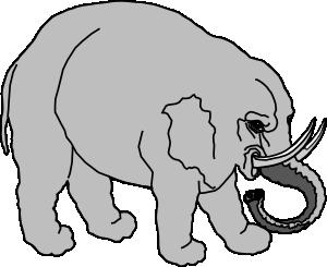 free vector Elephant Filled clip art