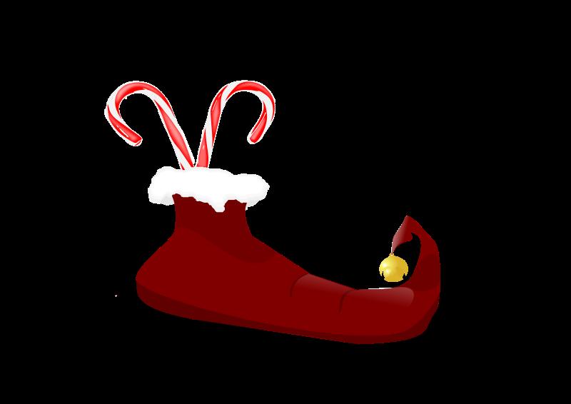 free vector Elf boot