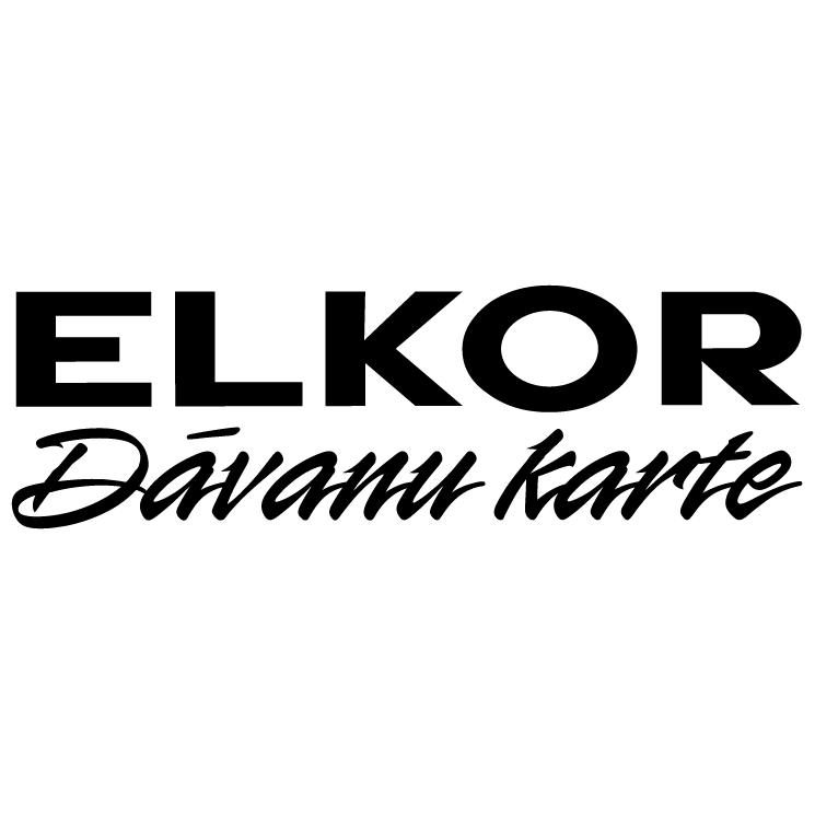 free vector Elkor davanu karte