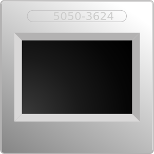 free vector Embedded Lcd Screen clip art