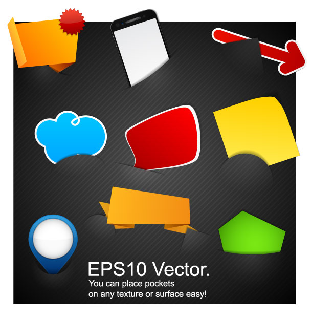 free vector Embedding tags vector