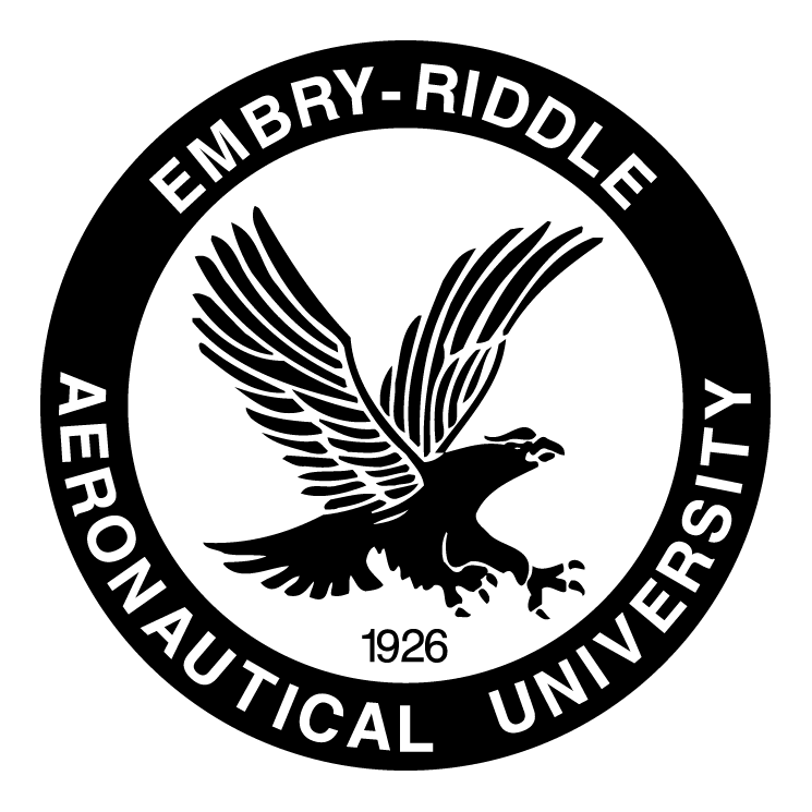 free vector Embry riddle aeronautical university 0