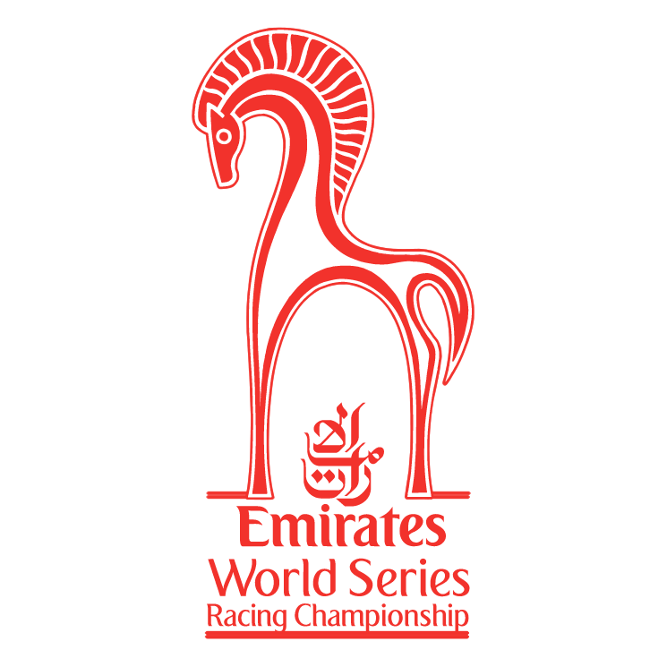 free vector Emirates world series racing championship