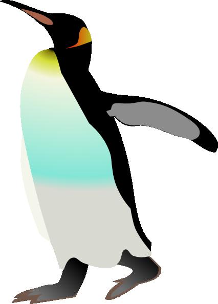 free vector Emperor Penguin clip art