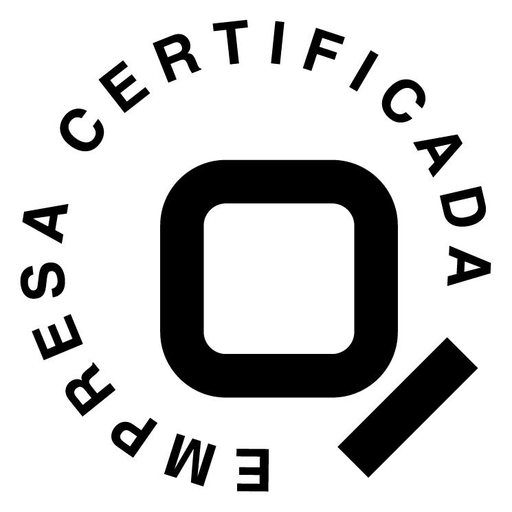 free vector Empresa cerificada