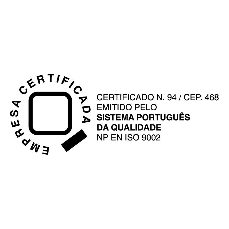 free vector Empresa certificada
