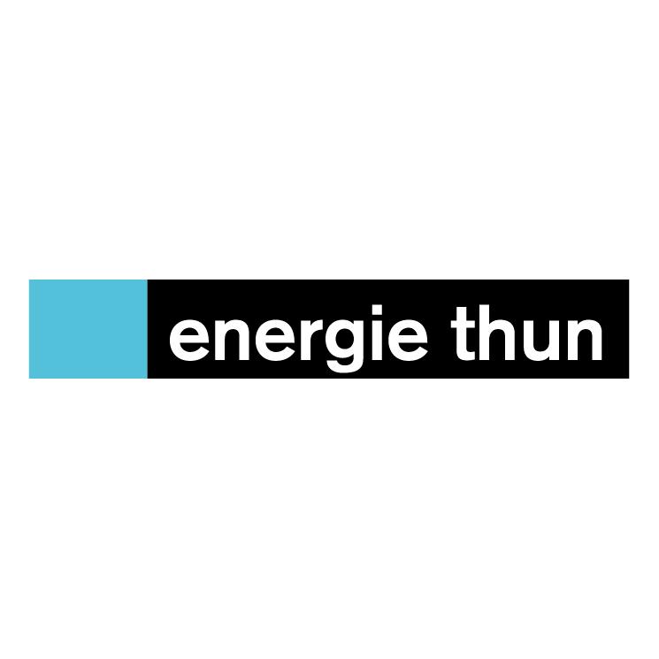 free vector Energie thun