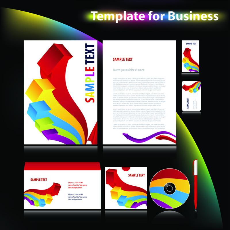 free vector Enterprise vi system template 04 vector