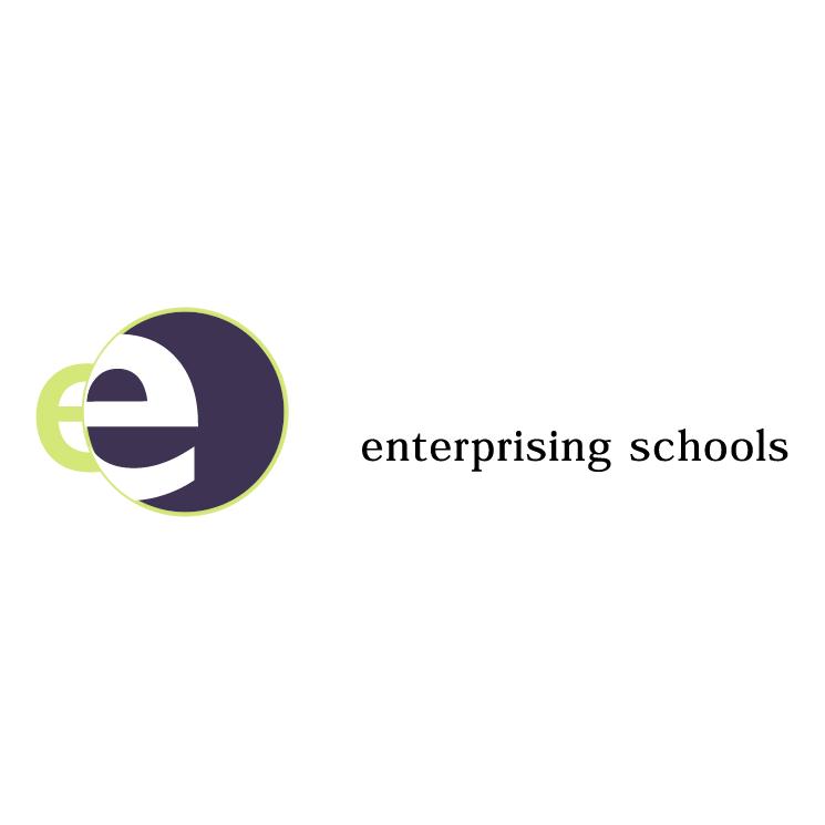 free vector Enterprising schools