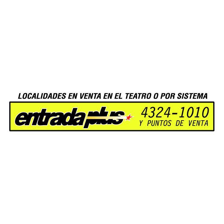free vector Entrada plus