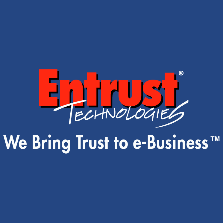 free vector Entrust technologies 0