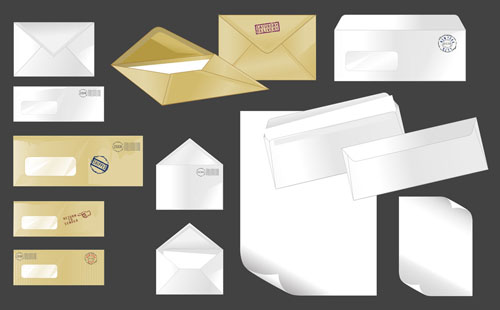 free vector Envelope 01 vector