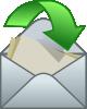 free vector Envelope Close Arrow clip art