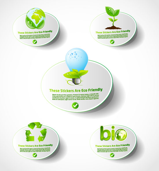 free vector Environmental icon vector 2 lowcarbon life