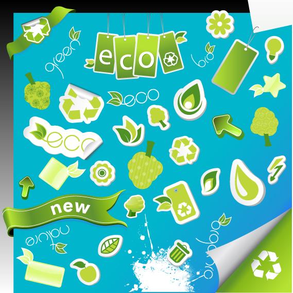 free vector Environmental icon vector series