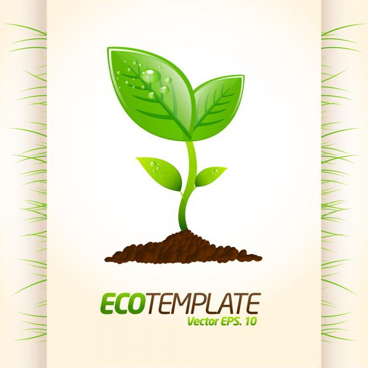 free vector Environmental layout design 05 vector