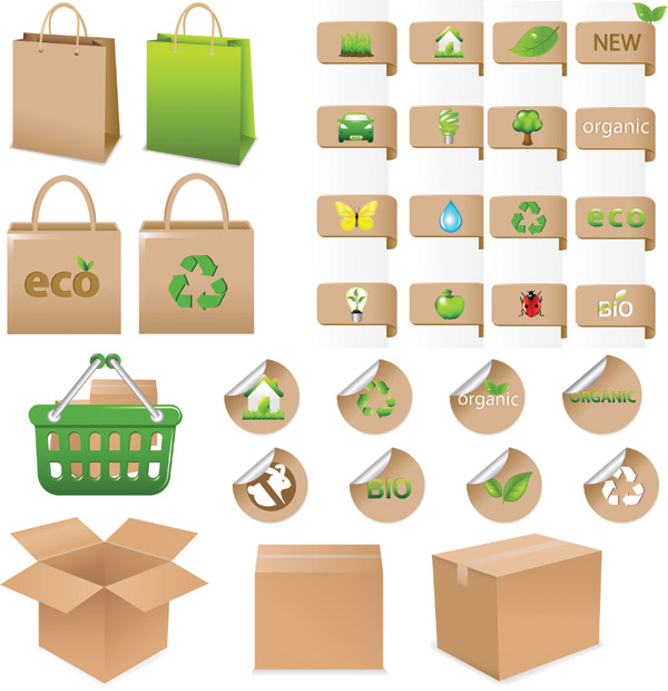 free vector Environmental theme icon vector