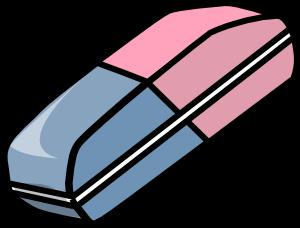 free vector Eraser clip art