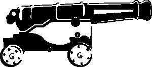 free vector Ericortner Cannon clip art