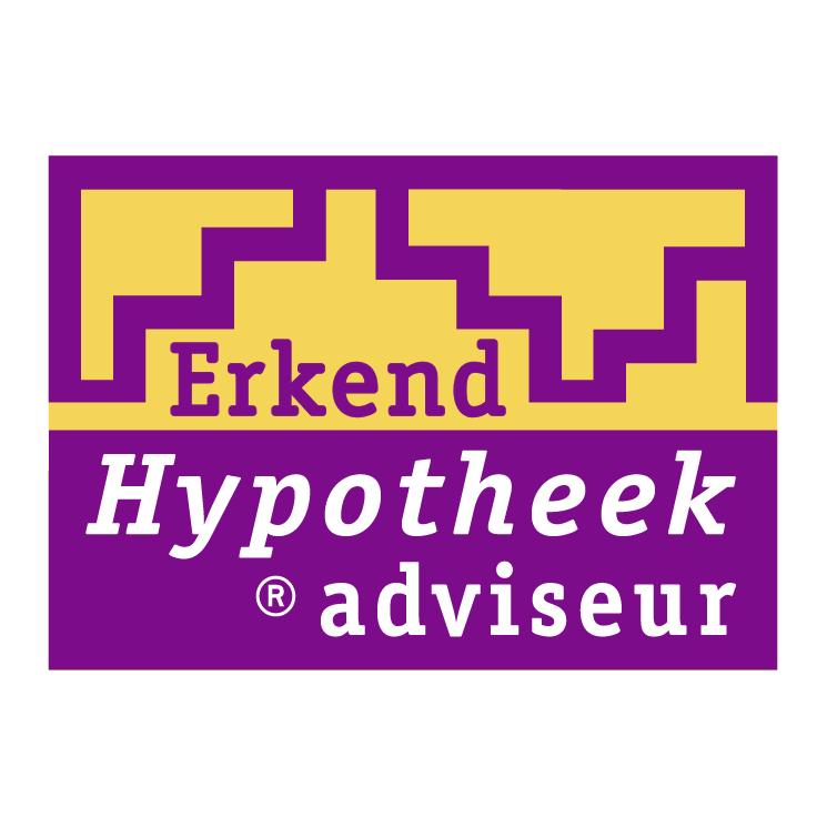 free vector Erkend hyoptheek adviseur