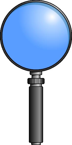 free vector Ernes Lente Magnifying Glass clip art