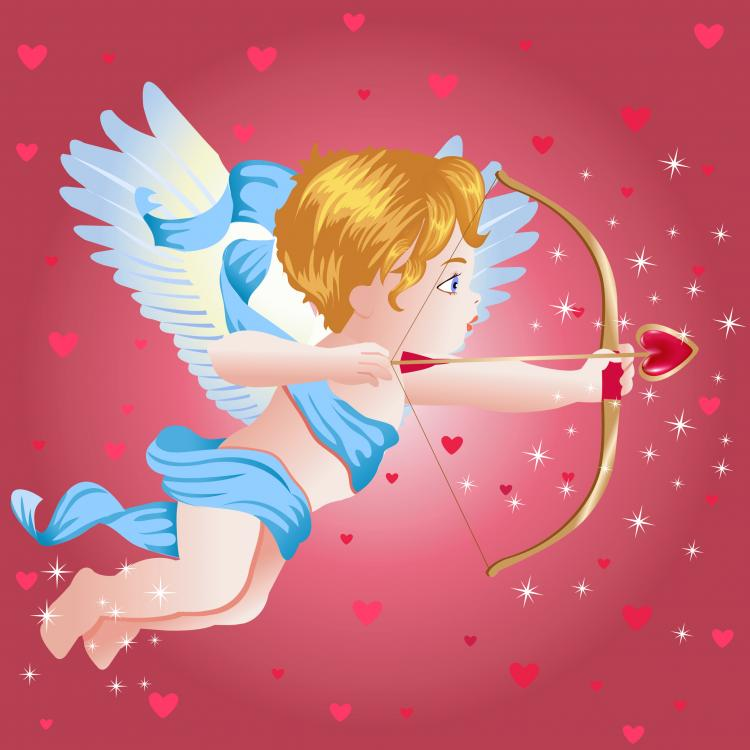 free vector Eros angel vector