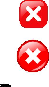 free vector Error Icons clip art