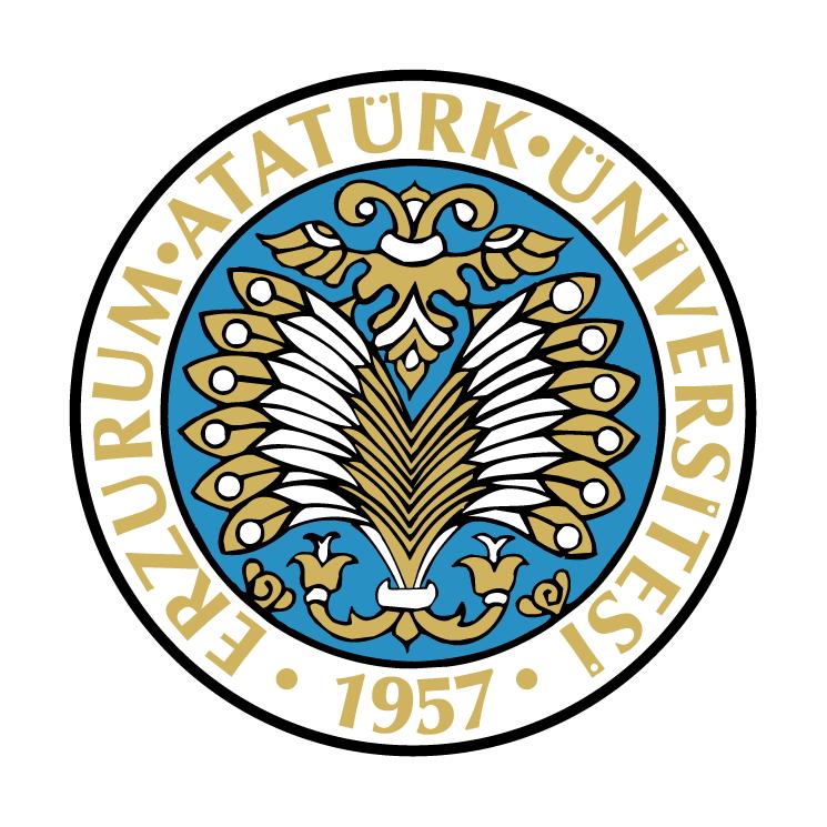 free vector Erzurum ataturk universitesi