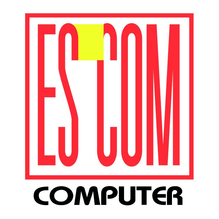free vector Es com computer