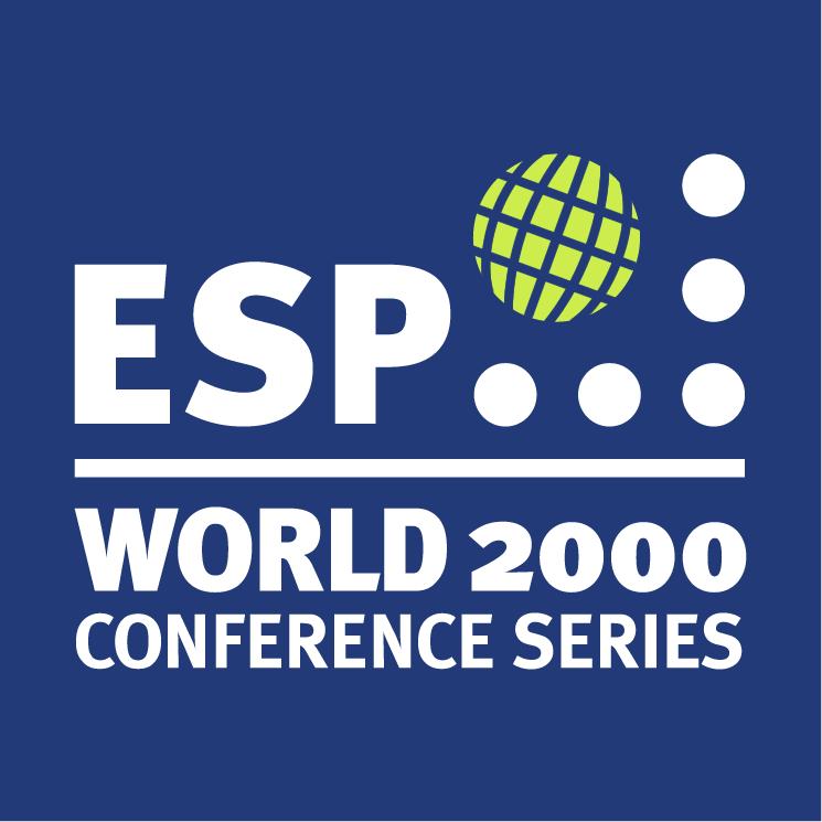 free vector Esp world 2000