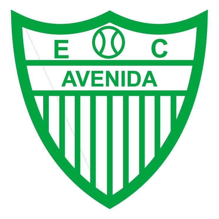free vector Esporte clube avenida de santa cruz do sul rs