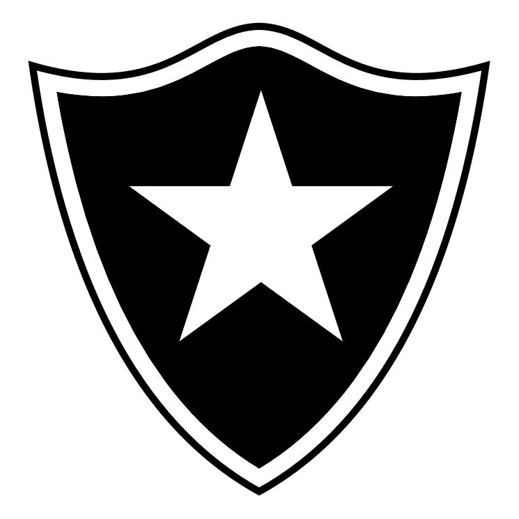 free vector Esporte clube botafogo de fagundes varela rs