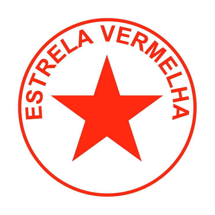 free vector Esporte clube estrela vermelha de sapiranga rs