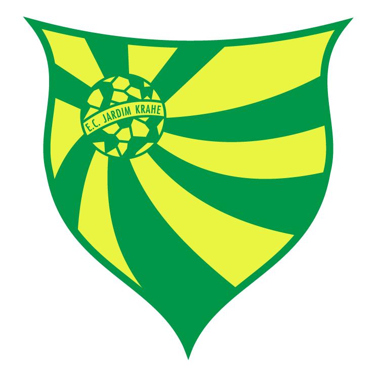 free vector Esporte clube jardim krahe de viamao rs