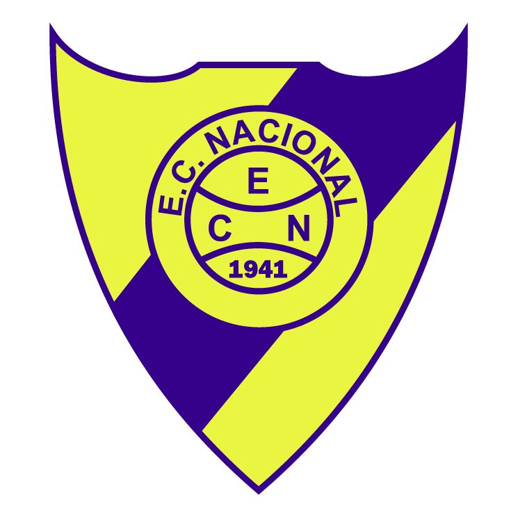 free vector Esporte clube nacional de cruz alta rs