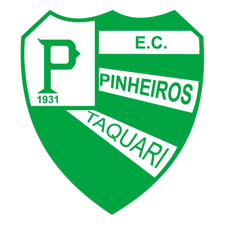 free vector Esporte clube pinheiros de taquari rs