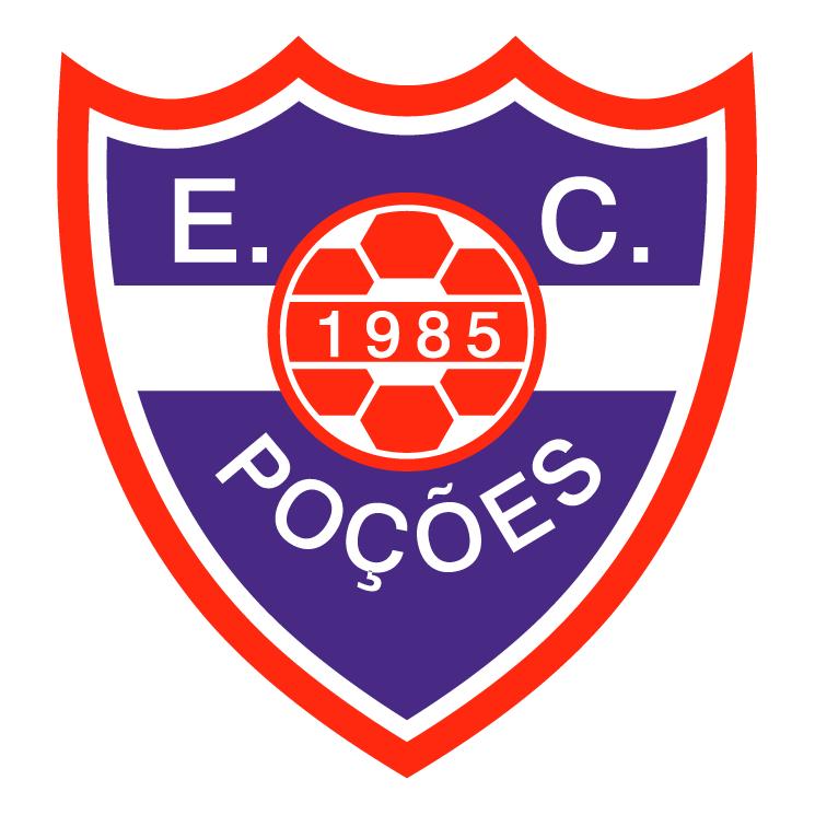 free vector Esporte clube pocoes pocoesba