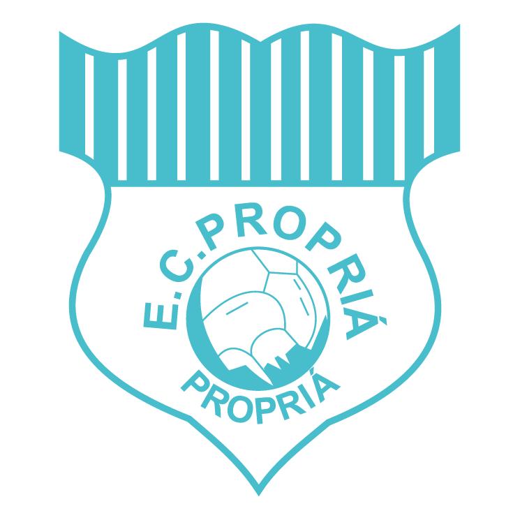free vector Esporte clube propria de propria se