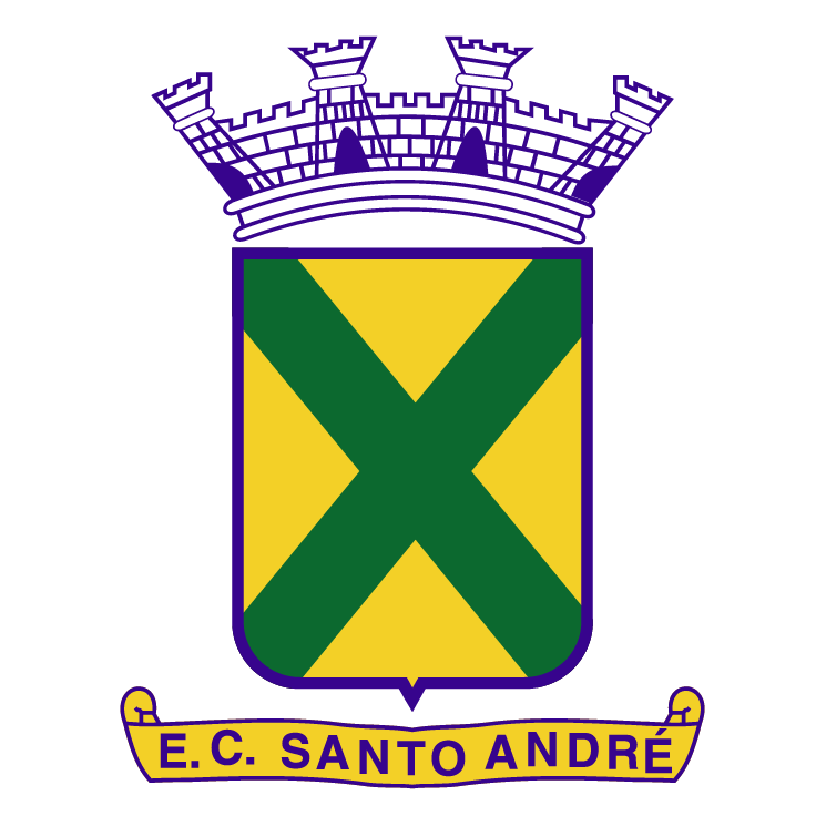 free vector Esporte clube santo andre sp