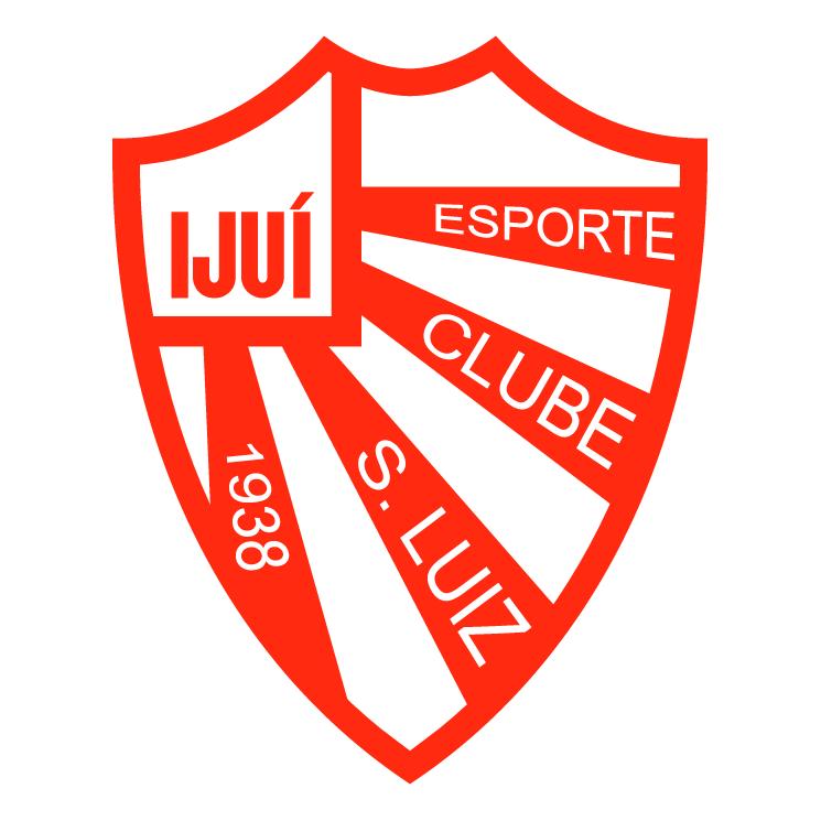 free vector Esporte clube sao luiz de ijui rs