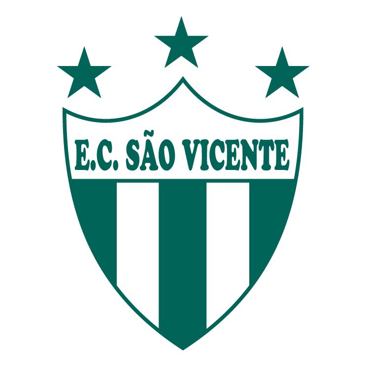 free vector Esporte clube sao vicente de porto alegre rs