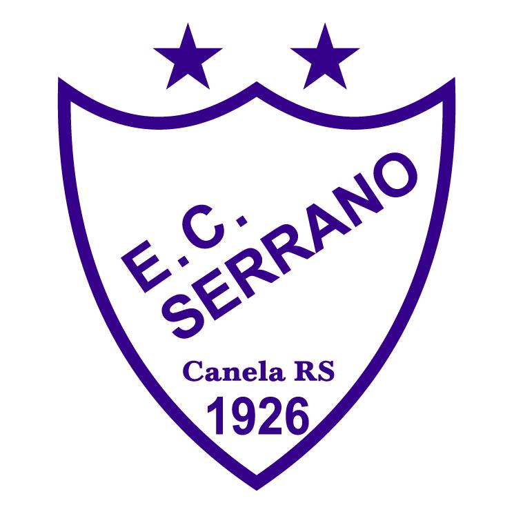 free vector Esporte clube serrano de canela rs