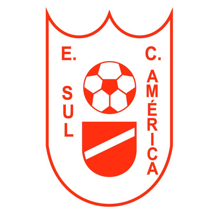 free vector Esporte clube sul america de canoas rs