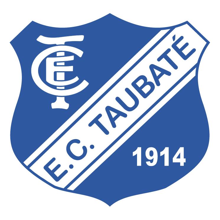 free vector Esporte clube taubate de taubate sp